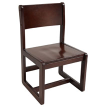 Solid Wood CHAIR in Cherry Finish
