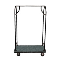Heavy Duty Bellman Cart Luggage Cart With 1000 Lbs Load Capacity