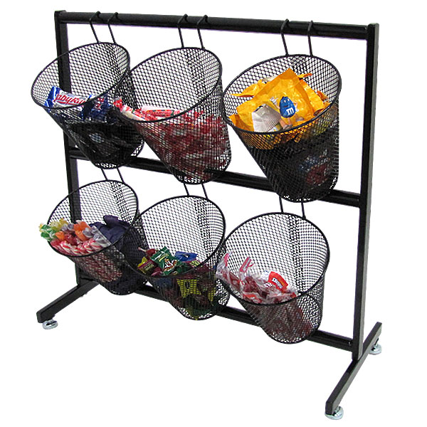 Mesh Basket Counter Candy Display