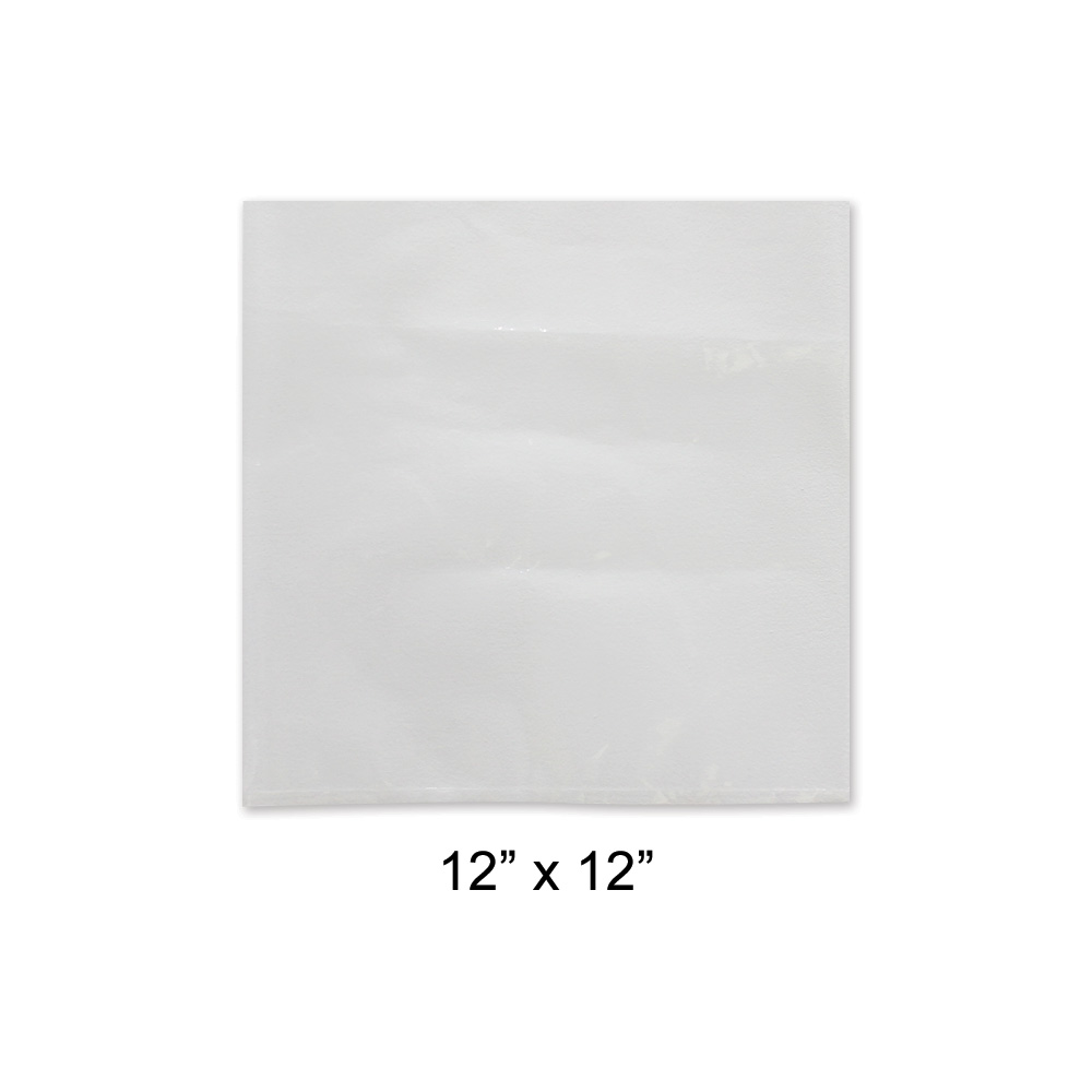 "12"" x 12"" Poly Bags (1000/case)"