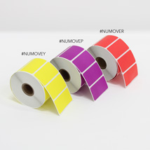 REMOVEABLE STICKY LABELS YELOW