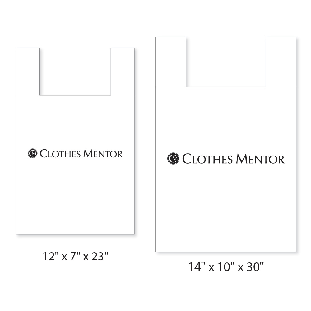 Clothes Mentor Logo Bag - 1000 Carton