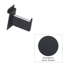 3 In. Faceout Arm For Slatwall – Matte Black