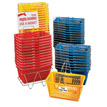 Red Jumbo Shopping Basket Set of 12