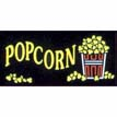 Popcorn Neon Like Illuminated Sign