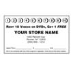 10HOLE BLACK PUNCH CARDS