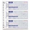 3-Part Cash Receipt Books, Blue