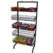 5 Basket Wire Candy Rack