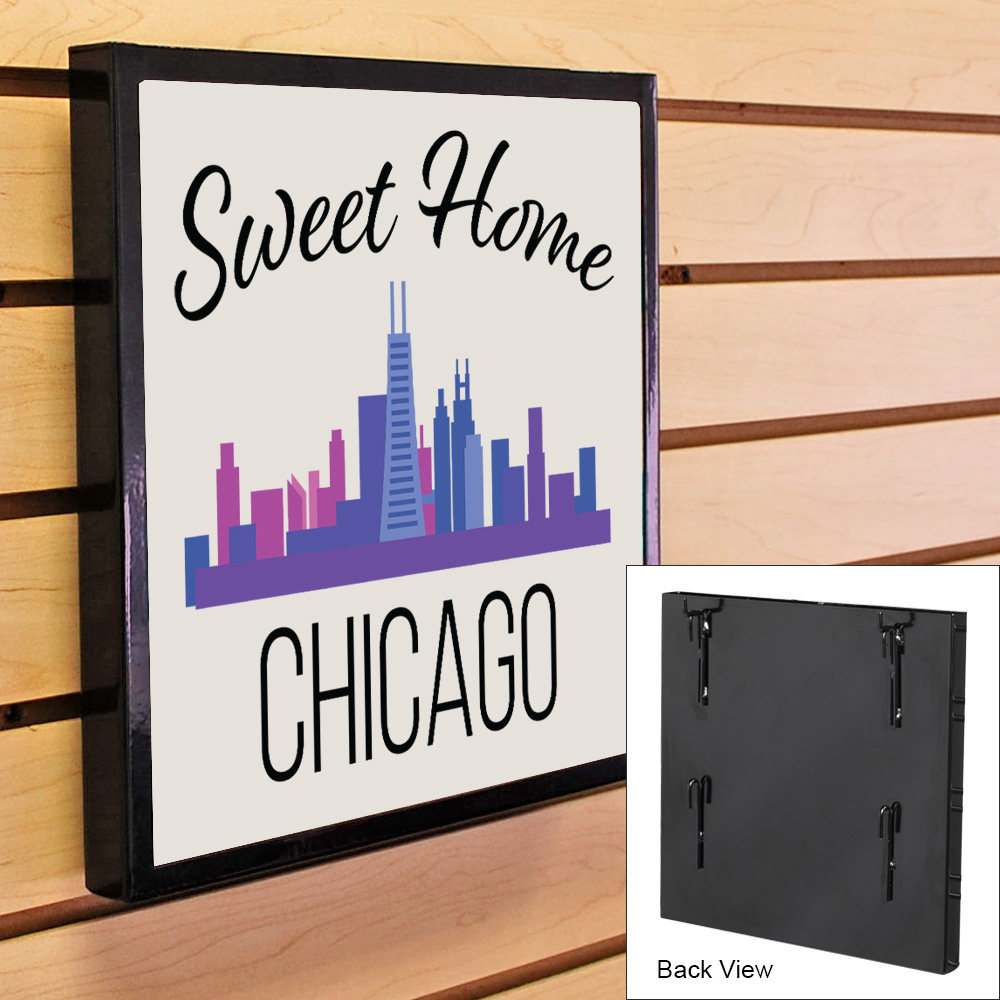 T Shirt Display Frame for Grid or Slatwall | Specialty Store Services