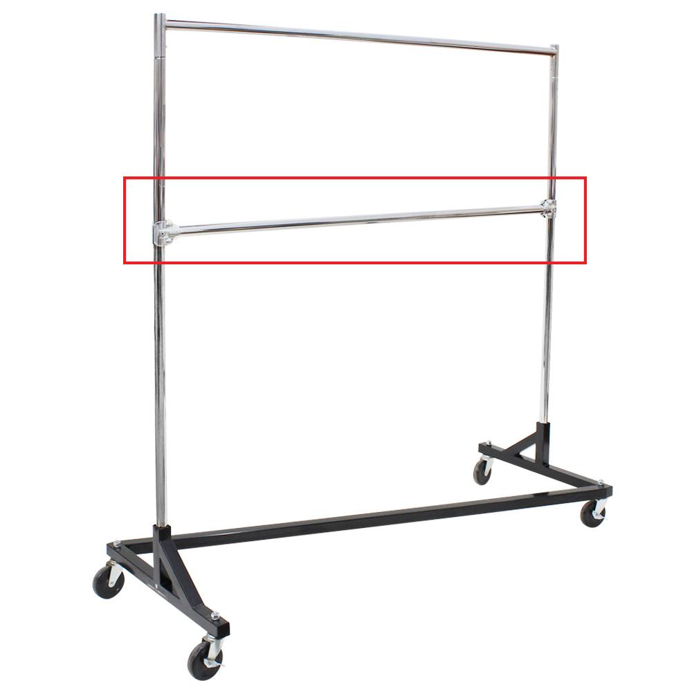 Retail Clothing Racks For Sale Add On Hangrail For Z Rack