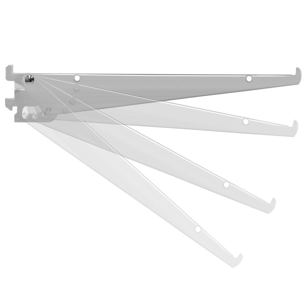 adjustable shelf brackets for wall standards specialty store services. Black Bedroom Furniture Sets. Home Design Ideas