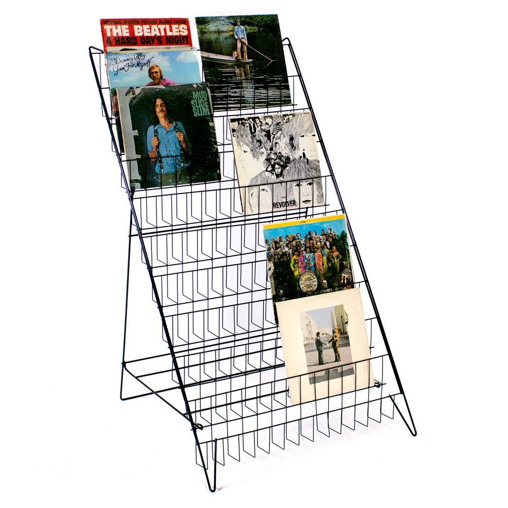 Record Album displays at wholesale prices ready for immediate delivery