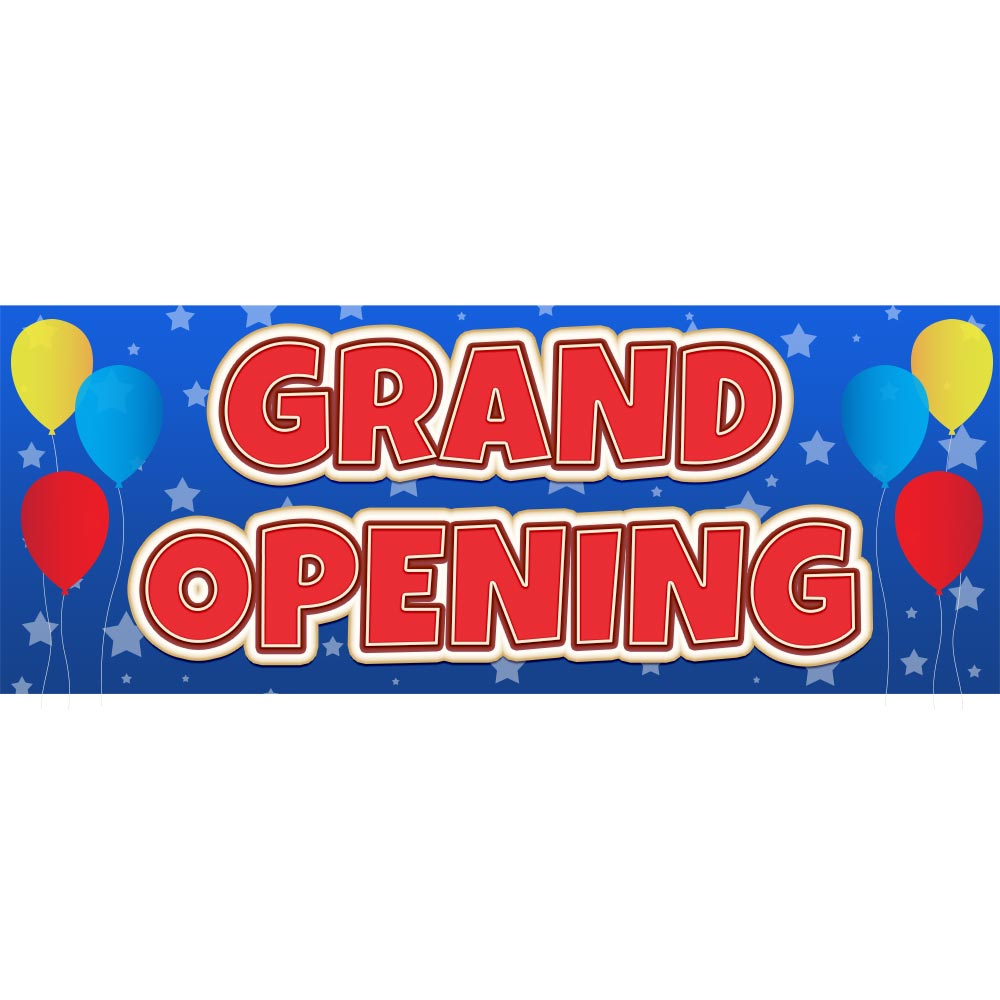 Grand Opening Vinyl Banner Specialty Store Services