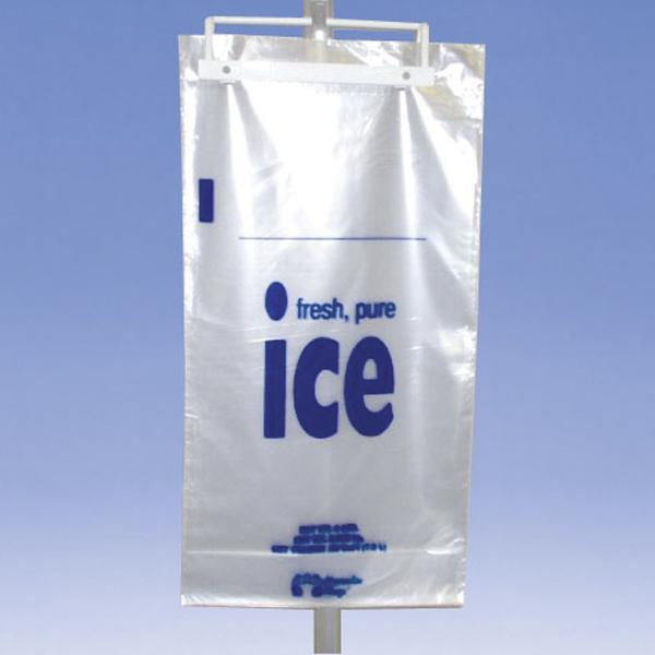 plastic wicket ice bags