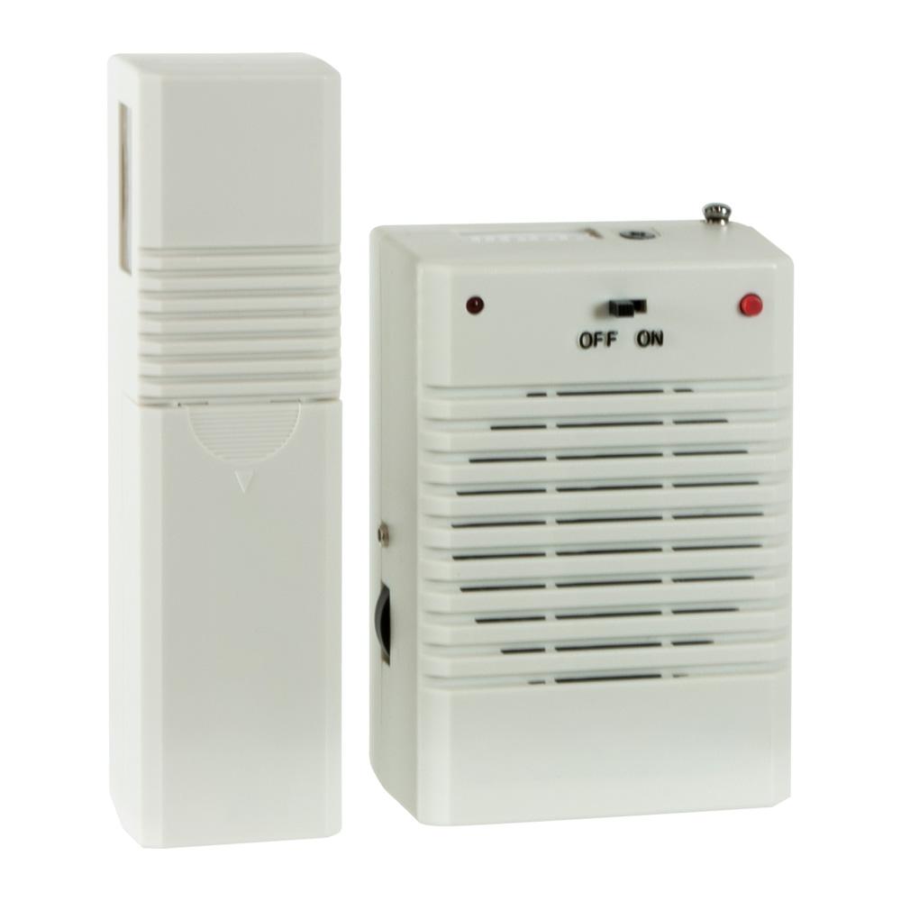 Deluxe Wireless Motion Activated Door Chime Alert
