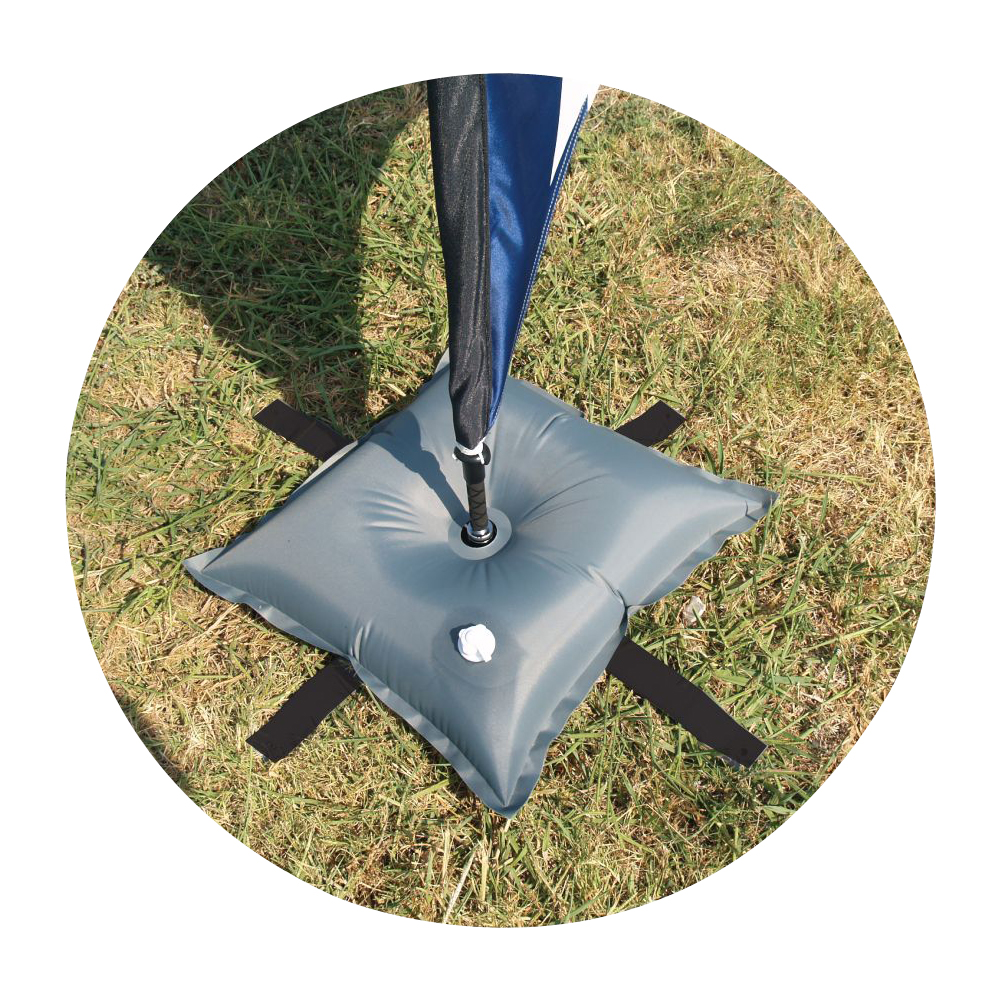 30 lbs. Water Weight for Feather Flag Crossbar Stand