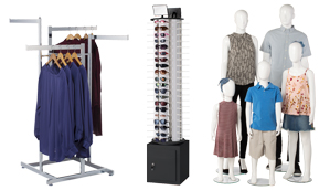 Apparel Racks and Supplies