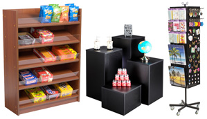 Retail Fixture Displays and Shelving