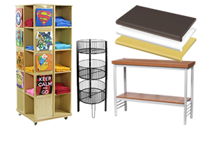 Retail Fixture Display Shelving