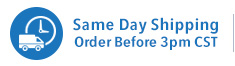Same Day Shipping - Order Before 3pm CST